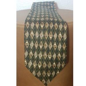 Valentino 100% Silk Tie Made in Italy